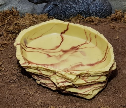 Lucky Reptile - Water Dish  Sandstone  Max
