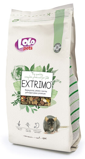 Lolo Pets -  Extrimo complete food for rat