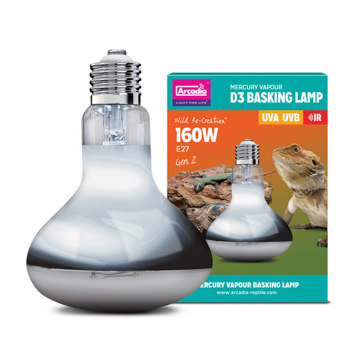 Arcadia - D3 UV Basking Lamp 160w
